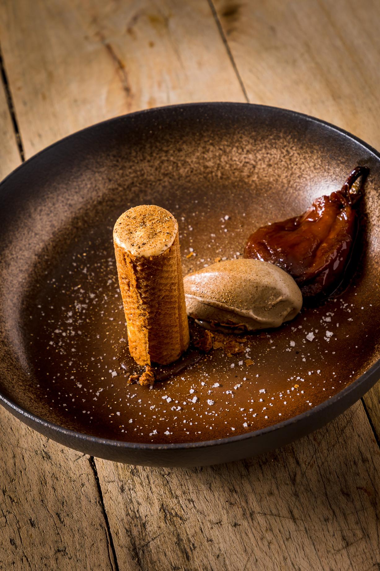 Pigeon excellence Miéral du chef Didier Goiffon au Restaurant La Huchette Proche de Lyon
